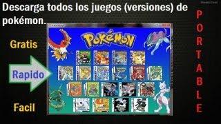 Descargar Todos Los Juegos (Versiones) De Pokémon para PC[1link] 2017