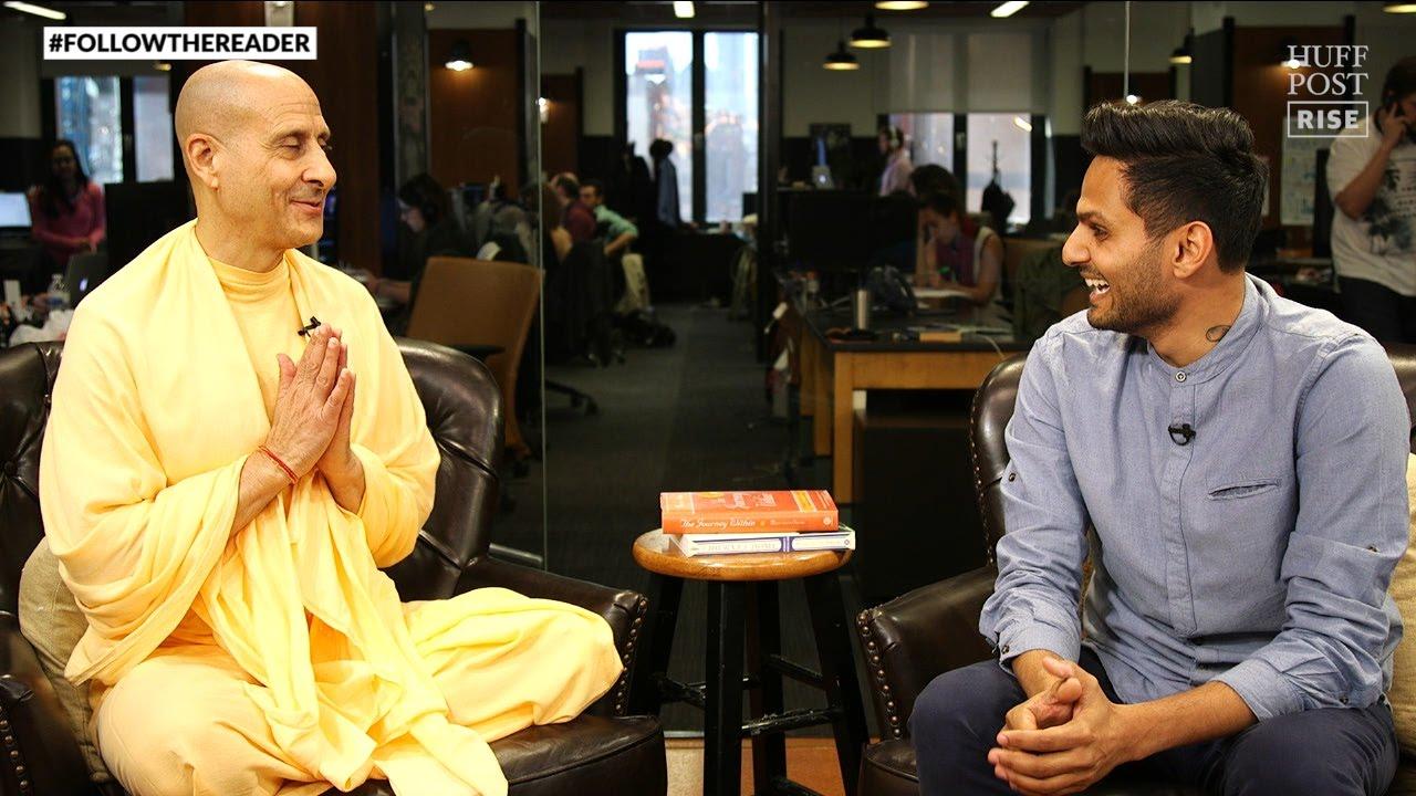 Radhanath Swami | #FollowTheReader With Jay Shetty - YouTube