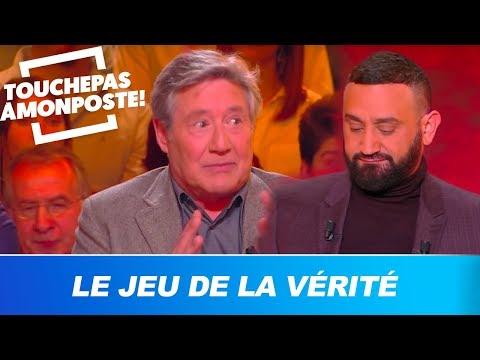 """Patrick Sabatier joue au """"Jeu de la vérité"""" avec Cyril Hanouna"""
