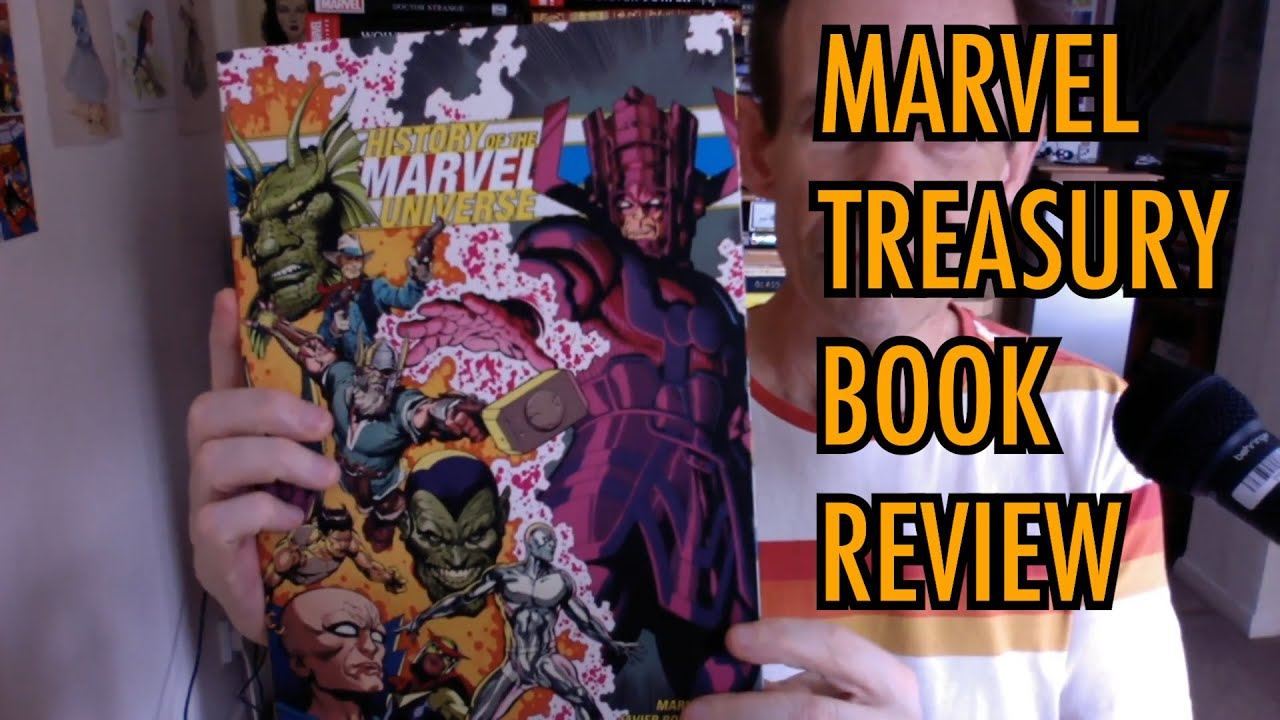 History of the Marvel Universe by Mark Waid Javier Rodriguez Treasury  Edition Book Review