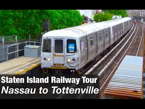Staten Island Railway Tour: Nassau to Tottenville