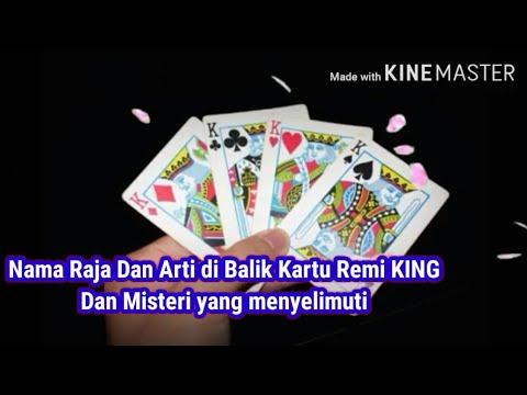 Nama Raja Di Balik Kartu Remi King Dan Arti Di Baliknya Youtube