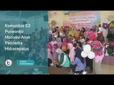 Komunitas S3 Purworejo Motivasi Anak Penderita Hidrocepalus