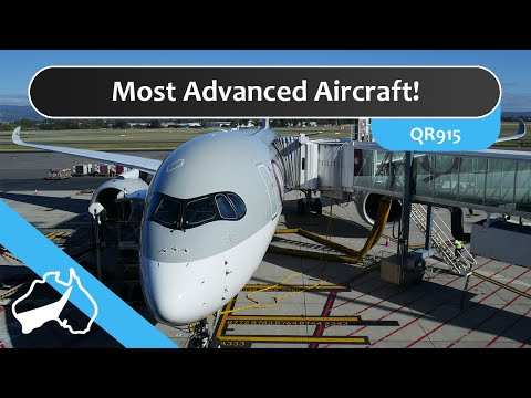 Qatar Airways A350 - Adelaide to Doha - Economy Flight Review