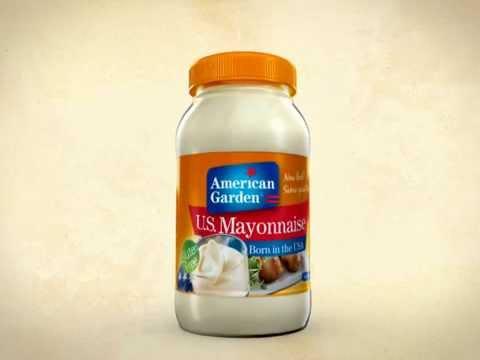 American Garden Mayo Advertisement