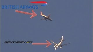British Airways & Southern Air over Walsall
