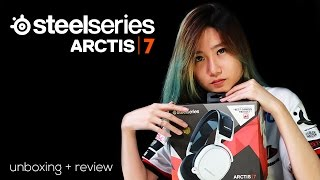 Unboxing & Review SteelSeries Arctis 7 (Wireless Headset from SteelSeries Arctis)