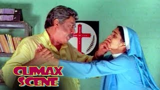 Climax Scene from the movie Crime File | Janardhanan , Suresh Gopi , Siddique - Janardhanan