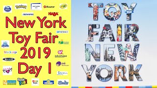 NYC Toy Fair 2020 Day 1: Walkthroughs of My Favorite Toy Companies