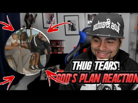 ALMOST CRIED! DRAKE   GOD's PLAN MUSIC VIDEO REACTION