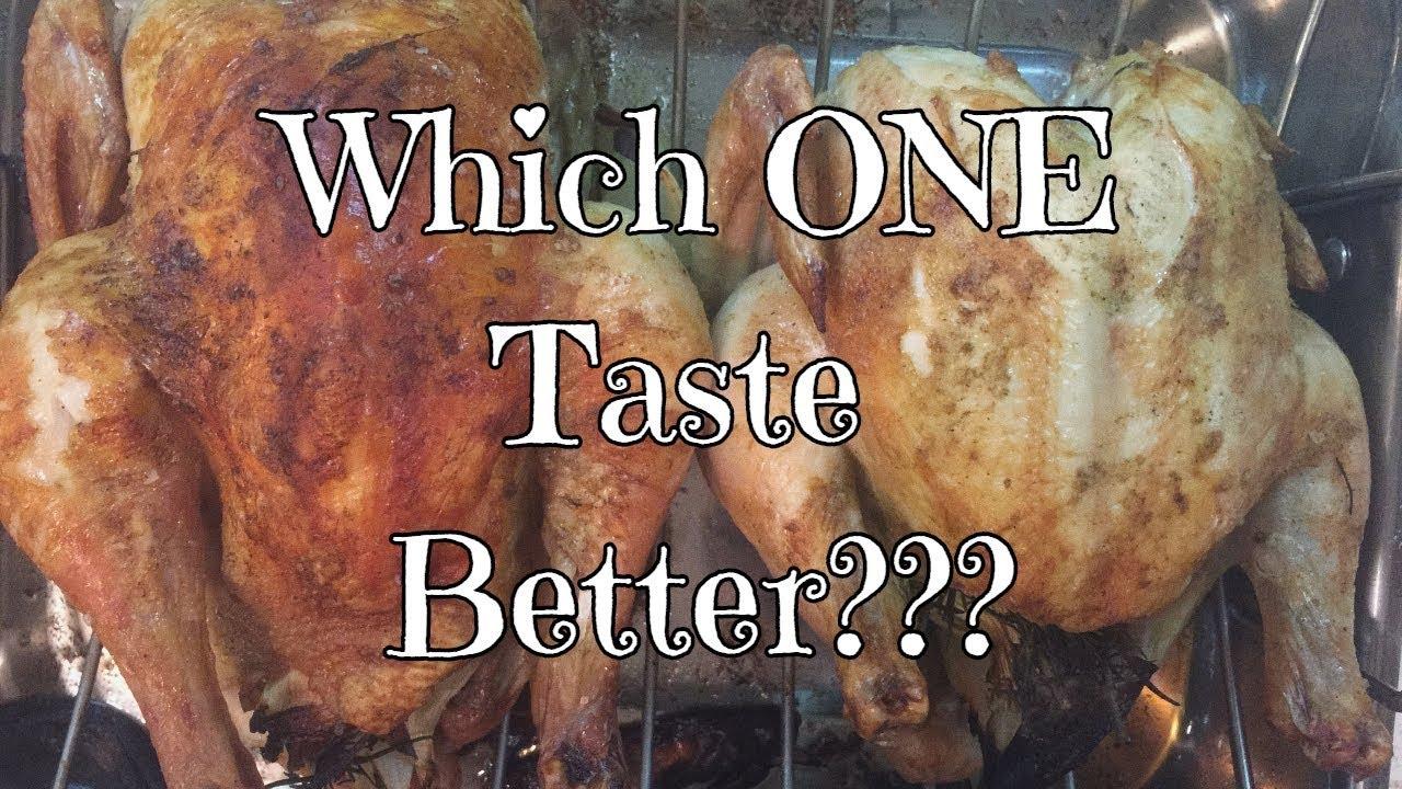 Which Taste Better?? Red Ranger vs Cornish Cross Chicken