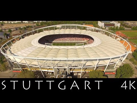 Best of STUTTGART - Meine Stadt My City in 4K - Part 3 - Aerial View - Two Steps From Hell Miracles