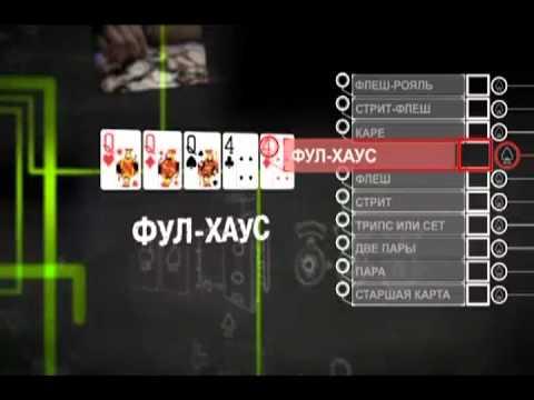 Уроки школы покера PokerStars: Покерные комбинации