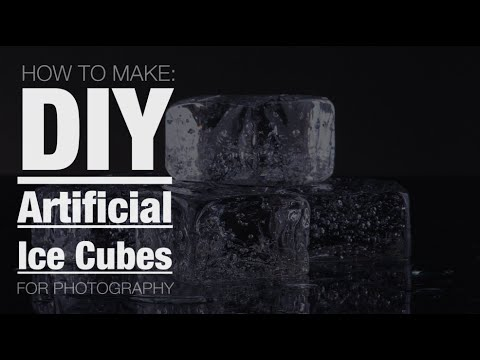how to make clear ice cubes youtube