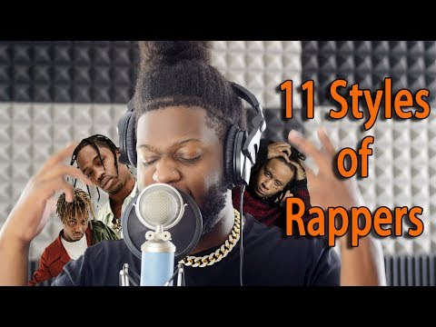 11 Styles Of Rapping! (TRAVIS SCOTT, JUICE WRLD, TRIPPIE REDD AND MORE)