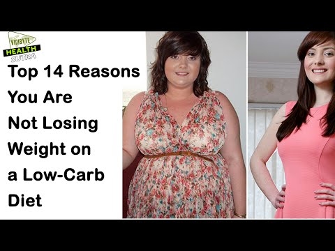 Top 14 Reasons for Not Losing Weight on a Low-Carb  Diet