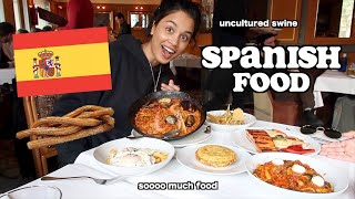 uncultured british girl eats spanish food for the first time | clickfortaz