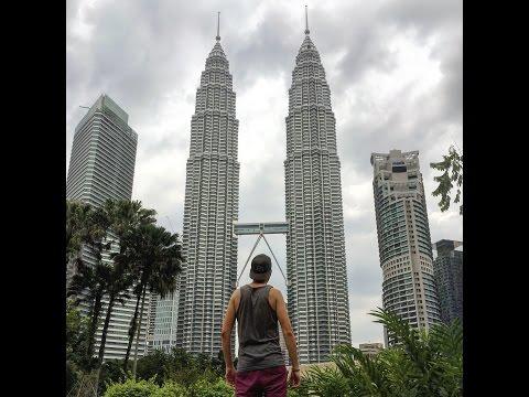 South East Asia Travel Vlog XIV - Kuala Lumpur