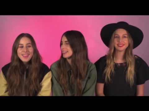 """Pronunciation Guide: HAIM Teach You How To Say Their Name"""