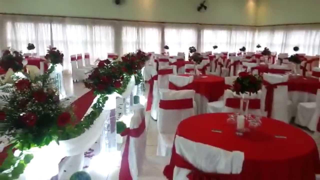 Decoração de Casamentos VERMELHO  Buffet Cestare Eventos  YouTube