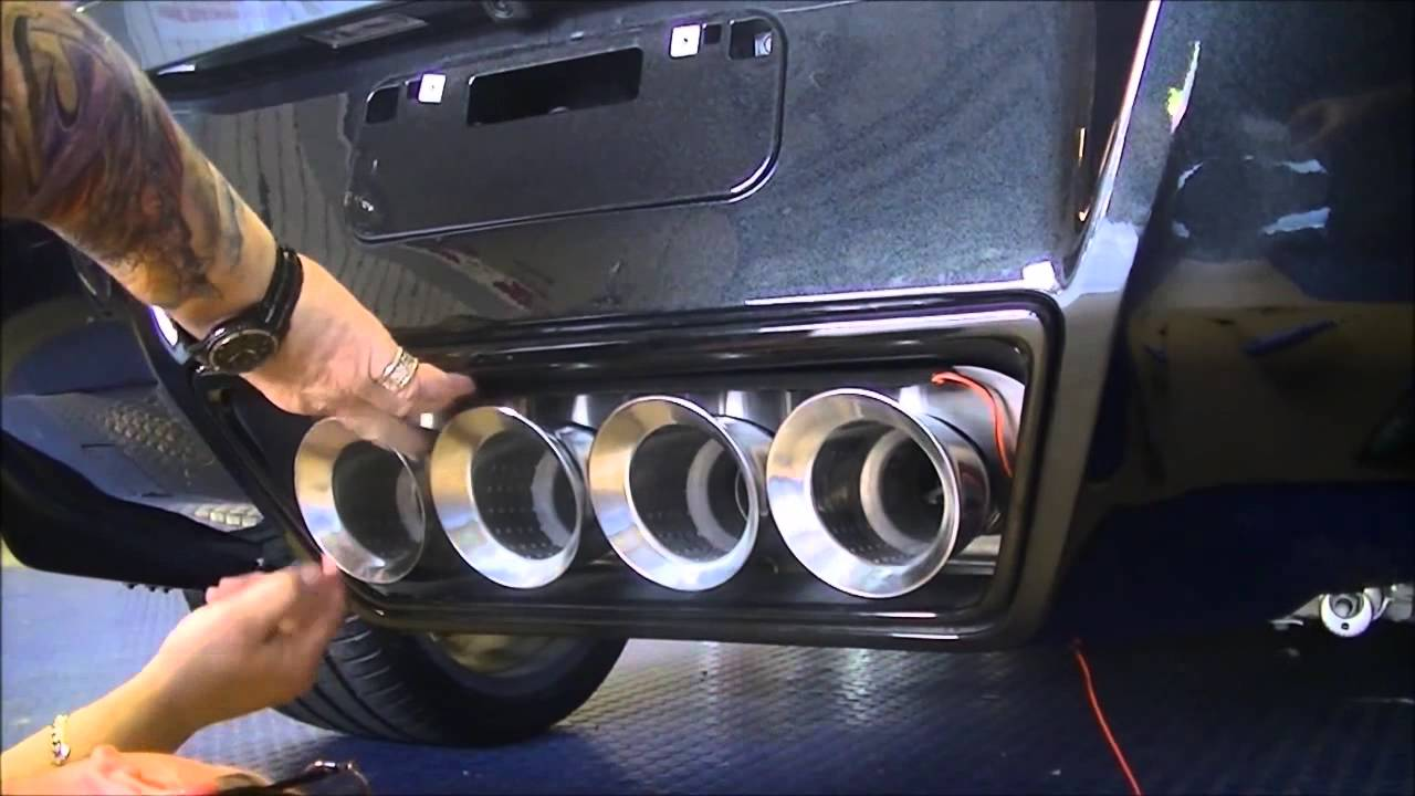 How To Install The C7 Exhaust Port Filler Panel Npp Dual