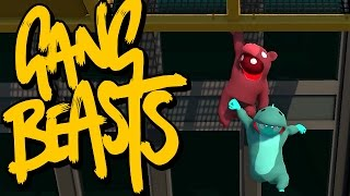 GANG BEASTS ONLINE - I Told You This Was a Nice View...