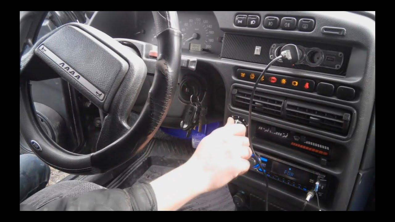 Козырек на заднее стекло ВАЗ 2110