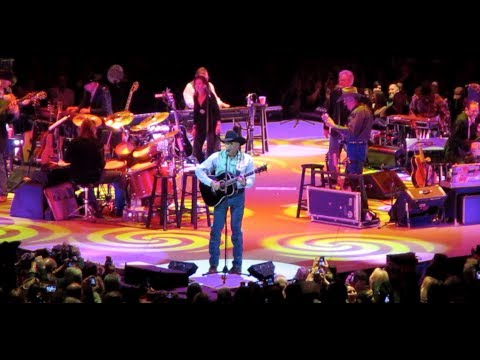 George Strait   The Cowboy Rides Away at San Jose Arena  January 30, 2014