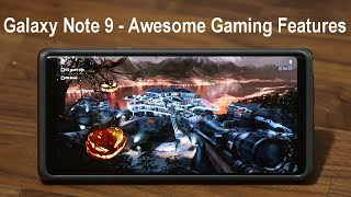 Galaxy Note 9 - Use this Tool to Game Like a Pro (Record Gaming Footage, etc)