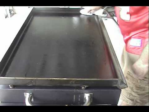 Blackstone Griddle Cleaning Youtube