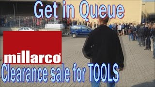 Clearance sale at tool importer Millarco - 195