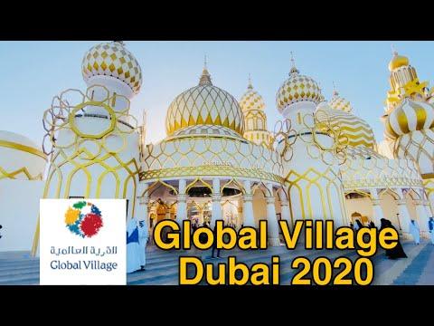 Visiting The New Global Village Dubai 2020