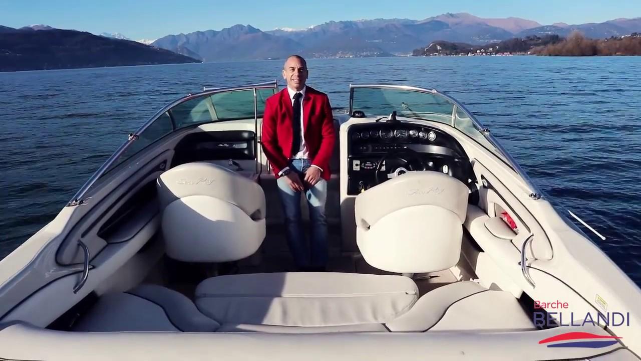 Sea Ray 240 Sun Sport Barca Usata Lago Di Garda Prova In Acqua