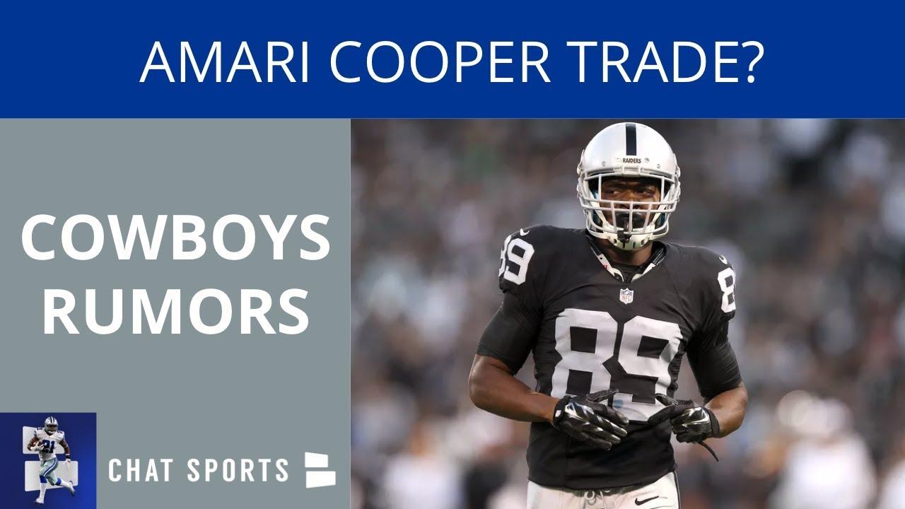 Cowboys Rumors  Amari Cooper Trade 123f142e2