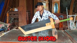 Black -Chế Tạo Buster Sword Cloud (Final Fantasy VII) - Phần 2