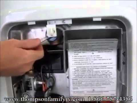 How Your Suburban RV Water Heater Works