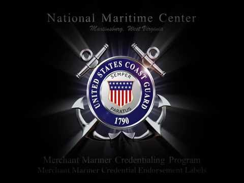 National Maritime Center: Endorsement Labels