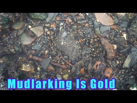 Mudlarking unbelievable gold treasure found