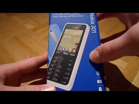 Unboxing Nokia 301 (Deutsch)