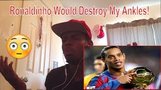 Ronaldinho Gaucho ● Moments Impossible To Forget REACTION!