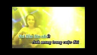 Karaoke | Sai Lầm Của Anh (Ciray Remix) - Đình Dũng
