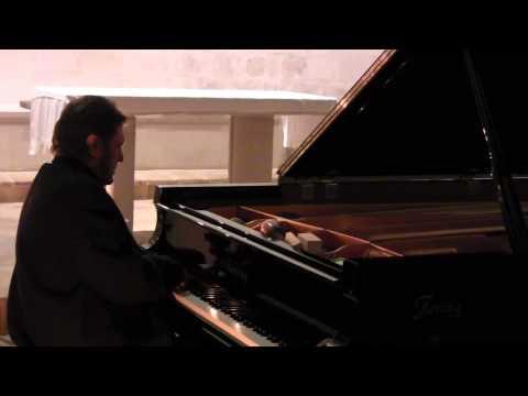 """Keith Tippett solo piano performance 13th Dec 2013- Conservatorio """"Nino Rota""""- Monopoli"""