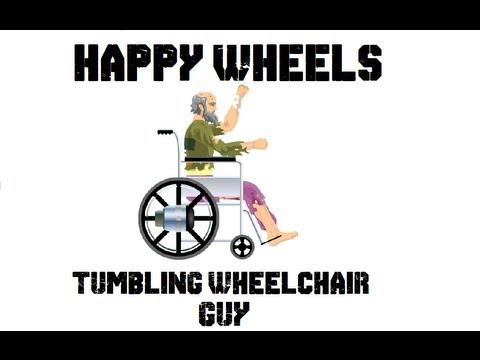 Happy Wheels Short - Tumbling Wheelchair Guy