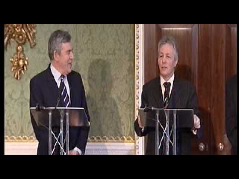 Powers transferred from UK Government to Northern Ireland Assembly.AVI