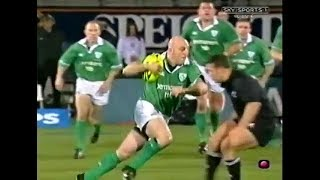 Keith Wood step & fend vs New Zealand Rugby 2002
