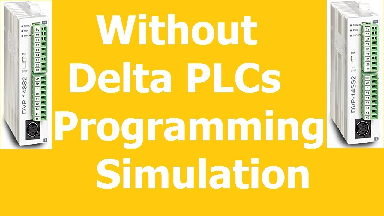 06# without delta plc programming online with delta simulator DESIRE  AUTOMATION