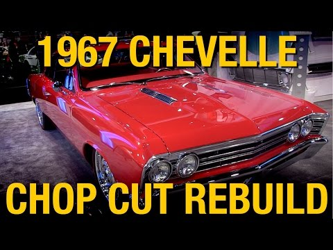 '67 Chevelle by Chop Cut Rebuild - AMD Booth SEMA 2014 - Eastwood