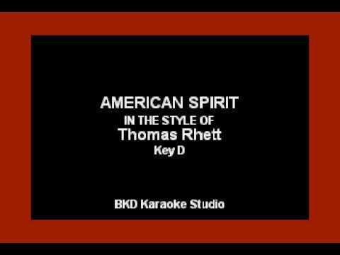 American Spirit (In the Style of Thomas Rhett) (Karaoke with Lyrics)