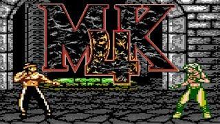 Mortal Kombat 4 (Unl) (NES Pirate) - NES Longplay - Liu Kang Playthrough NO DEATH RUN (LONGPLAY)