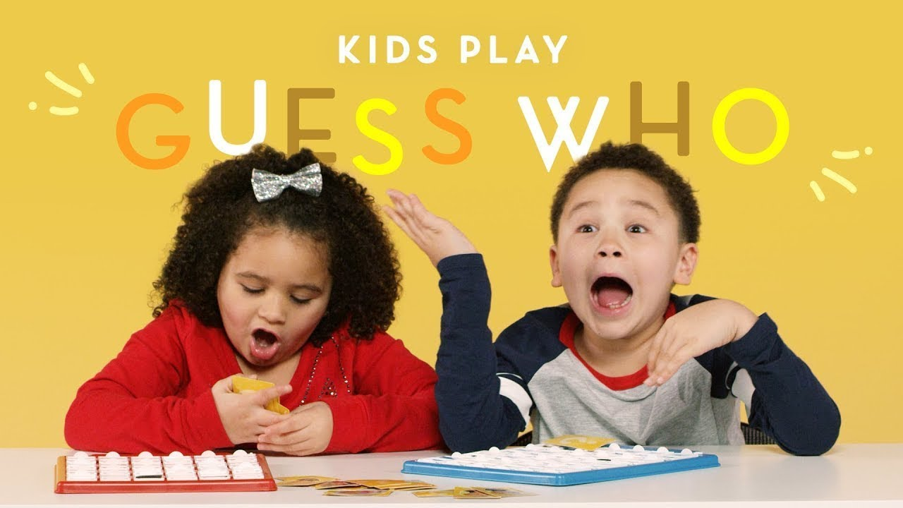 Kids Play Guess Who | Kids Play | HiHo Kids